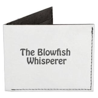 the blowfish whisperer billfold wallet