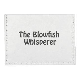 the blowfish whisperer tyvek® card case wallet