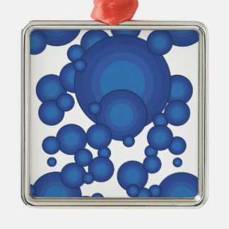The Blue 70 s year styling Ornament