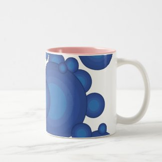 The Blue 70's year styling Mug