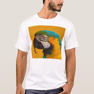 The Blue and Yellow Macaw Ara Ararauna Parrot Bird T-Shirt