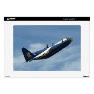 "The Blue Angels' C-130 Hercules ""Fat Albert"". 15"" Laptop Skin"