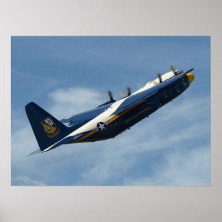 "The Blue Angels' C-130 Hercules ""Fat Albert"". Poster"