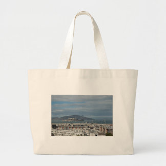 The Blue Angels Head to Alcatraz.jpg Tote Bag