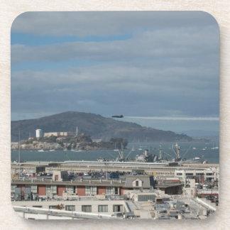 The Blue Angels Head to Alcatraz.jpg Coaster