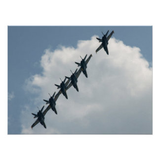 The Blue Angels. Poster