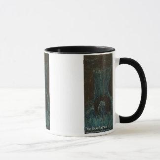 the blue bathers mug