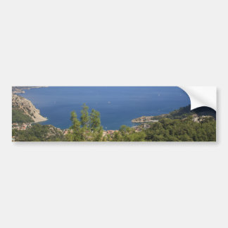 The Blue Bay of Turunc Bumper Sticker