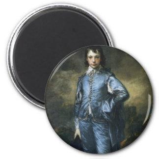 The Blue Boy 2 Inch Round Magnet