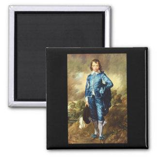 The Blue Boy', Thomas_Portraits 2 Inch Square Magnet
