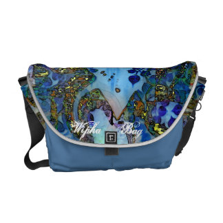The Blue Buddha Smiling bag Commuter Bag
