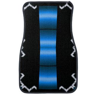 The Blue Car Mat