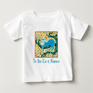 The Blue Cat of Happiness Baby T-Shirt