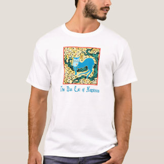 The Blue Cat of Happiness T-Shirt