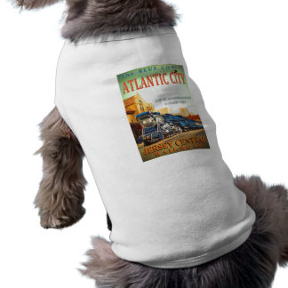 The Blue Comet Train Doggie T-Shirt