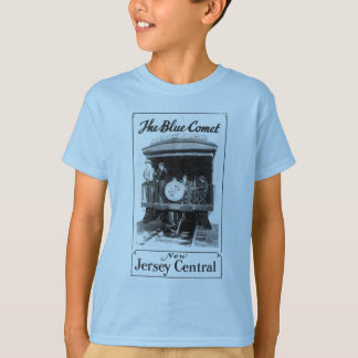 The Blue Comet Train Kids ComfortSoft® T-Shirt