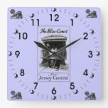 The Blue Comet Train Vintage Wall Clock