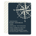 The Blue Compass | Nautical Baby Shower Invitation
