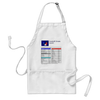 The Blue Cow and The Carrot Adult Apron