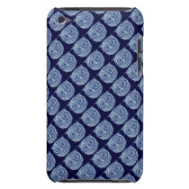 the blue cute owl iPod touch cover