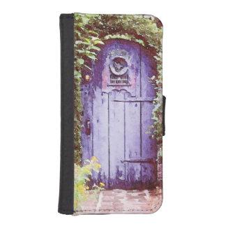 The Blue Door iPhone SE/5/5s Wallet