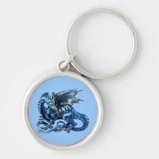 The blue dragon - keychain