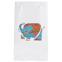 The Blue Elephant Small Gift Bag