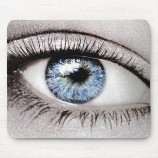 """THE BLUE EYES"" MOUSE PAD"