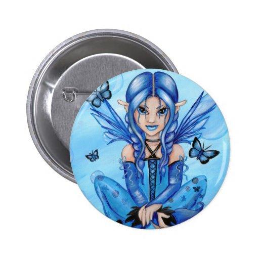 """The Blue Fairy"" Button"