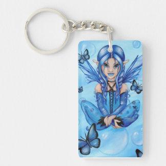"""The Blue Fairy"" fantasy keychain"