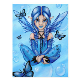 """The Blue Fairy"" postcard"