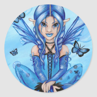 """""""The Blue Fairy"""" stickers"""