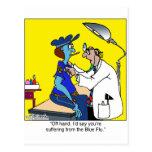 The Blue Flu Postcards