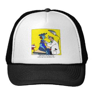 The Blue Flu Trucker Hat