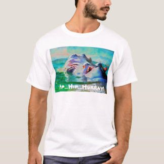 The blue Hippo T-Shirt