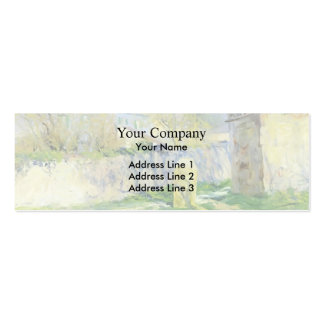 The Blue House by Guy Rose Business Card