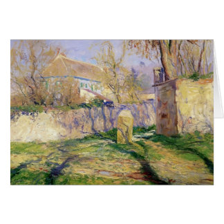 The Blue House by Guy Rose Card
