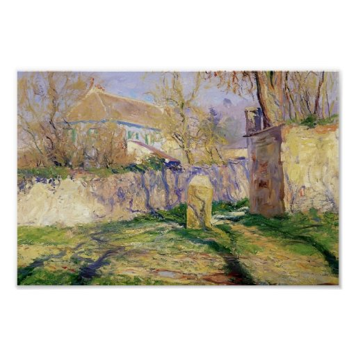 The Blue House by Guy Rose Print