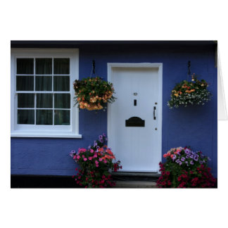 The Blue House, Saffron Walden, Essex, UK Greeting Card
