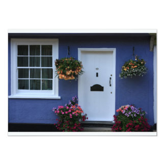 The Blue House, Saffron Walden, Essex, UK 5x7 Paper Invitation Card