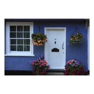 The Blue House, Saffron Walden, Essex, UK Art Photo