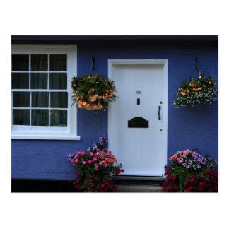 The Blue House, Saffron Walden, Essex, UK Postcard