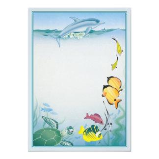 The Blue Lagoon © 5x7 Paper Invitation Card