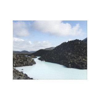 The Blue Lagoon Entry - Iceland Canvas Print
