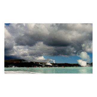 The Blue Lagoon, Iceland - bookmark Business Card