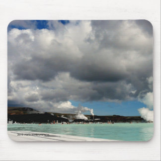 The Blue Lagoon, Iceland Mouse Pad