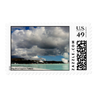 The Blue Lagoon, Iceland Stamp