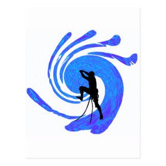 THE BLUE LINE POSTCARD