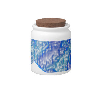 THE BLUE LION CANDY JARS