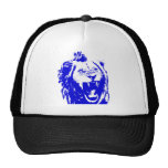 The Blue Lion King Speaks Mesh Hats